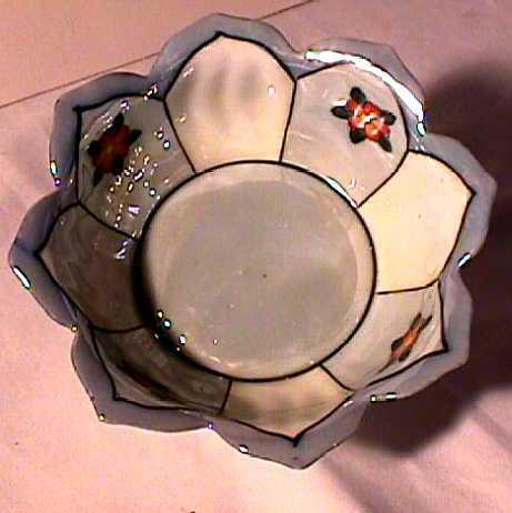 Luster Porcelain Nut Set Mint