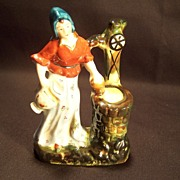 Occupied Japan--Lady at the Well Figurine