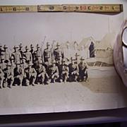 "48"" Panoramic Photo of Camp Cody, Deming, N.M.--1917--WW1--Co. A, Nebr. Nat'l. Guard"