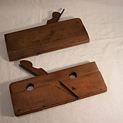 Two Ohio Tool Co. Wood Planes, Woodworking tools