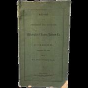 Philadelphia & Reading Railroad Co. Stockholders Report for Year ending Nov.30, 1878