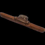 Vintage Wood Spoke Scraper - Woodworking Tool