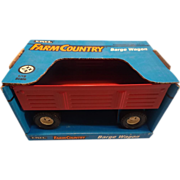 SALE PENDING Red Barge Wagon - Ertl Farm Country - 1993