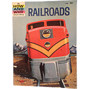 The HOW and WHY Wonder Book of RAILROADS - Child-Teenager Book