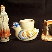 Occupied Japan Figurine , Occupied Japan Egg Cup, Black Memorabilia Privy