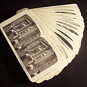 Stereoview cards, Set of Sears Roebuck & Co., nearly full set