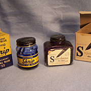 SALE Sheaffer & Parker Ink Bottles in Original Boxes