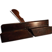 SALE Ovolo Boxed Wooden Moulding Plane--Wm. MOSS--Woodworking Tool