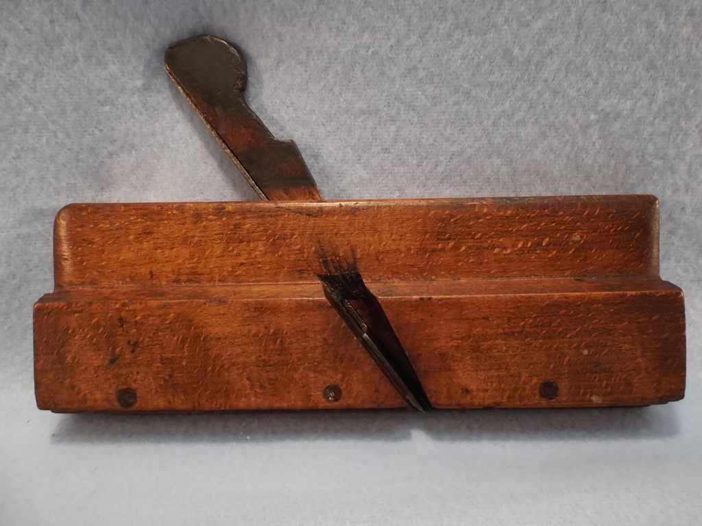 Vintage Wooden Boxed 3/8 inch Bead Plane--Woodworking Tool