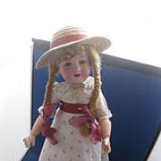 German Bisque Doll  Armand Marseille Doll