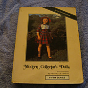 """Book """"Modern Collector's Dolls  by Patricia Smith"""