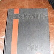 1934 Rice University Yearbook, Houston, Tx.
