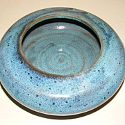 Hand Made Pottery - Blue Planter