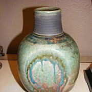Signed Art Pottery Vase
