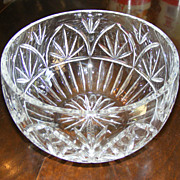 Large Crystal Centerpiece Bowl