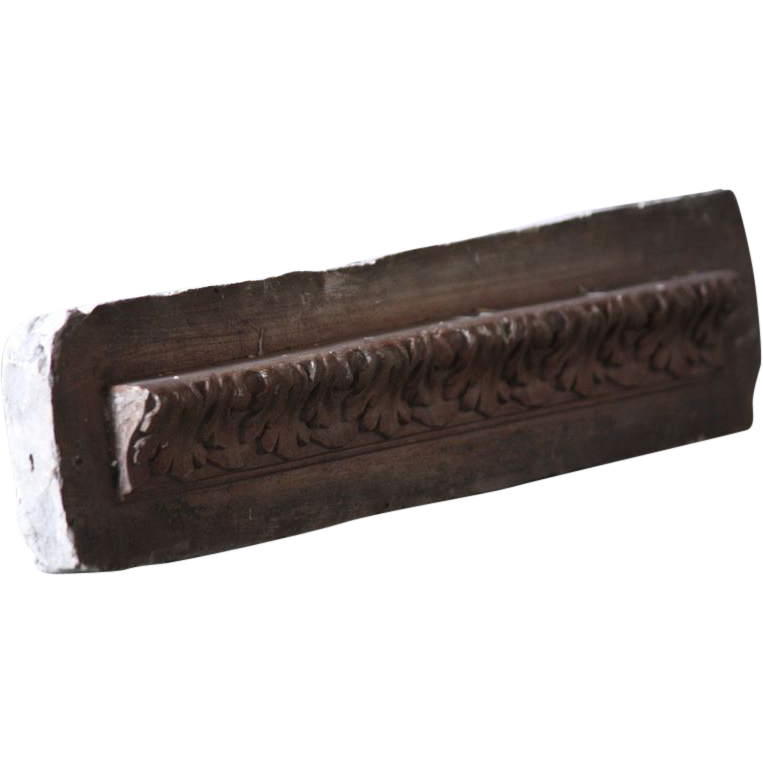 19th Century French Plaster Moulding - Antique Cast Molding