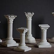 Vintage Porcelain Cake Decorating Columns - Pillars