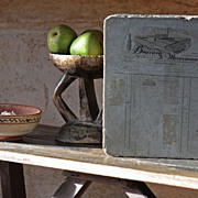 Antique Lithographic Printing Stone