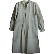 Antique French Linen Smock - Vintage Chemise / Shirt
