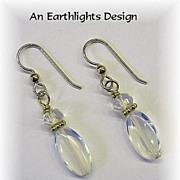 Lovely Opalite Dangle Earrings