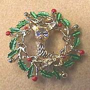 Vintage GERRY'S Classic Reindeer Pin - Book Piece