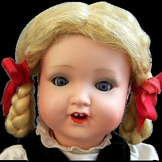 German Bisque Doll Armand Marseille 966 Toddler Doll all Original