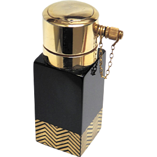 Atomizer French 1920's Art Deco Perfume Bottle