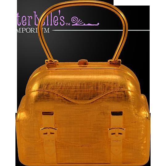 """1960's Authentic Rare Judith Leiber """"Suitcase"""" Purse"""