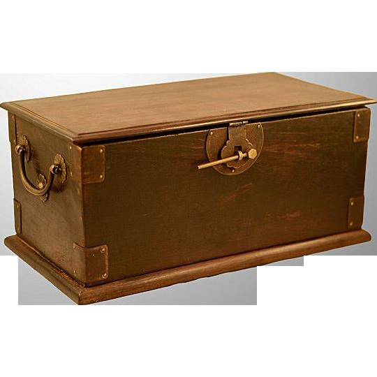 Antique Manchu Qing Dynasty Beautiful Rosewood  Box