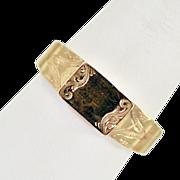 Antique 14 Karat Gold Poison Ring