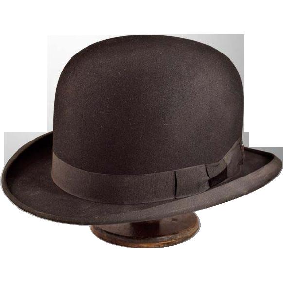Dapper High-Quality Dobbs Fifth Avenue Vintage Bowler