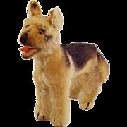 "Adorable Vintage Steiff Mohair German Shepherd ""Arco"" (1957-1958)"