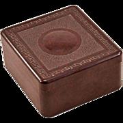 Elegant 1940's Bakelite Trinket Box