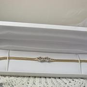 14K Gold .60CT Diamond Bracelet