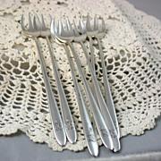 7 Deco Tiffany Seafood Forks