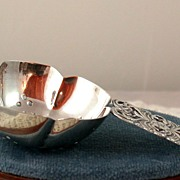 SALE Sterling Tea Strainer from Peru