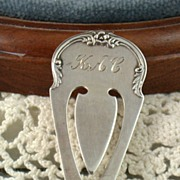 S Kirk & Son Sterling Bookmark
