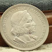 SALE Pristine 1893 Columbia Exposition  Half Dollar