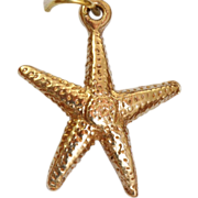 14 K Star Fish Charm/Pendant