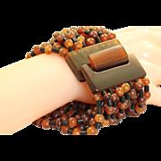 Estate Gerda Lynggaard for Monies Horn Bracelet