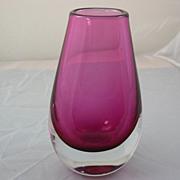 SALE Orrefors Art Glass Vase