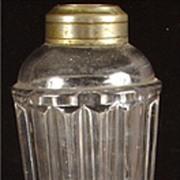 Antique Flint Glass Whale Lamp