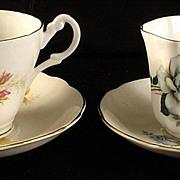 Royal Ascot & Royal Grafton Bone China Tea Cup & Saucer