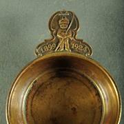 Vintage 1924 College Or Prep School Bronze Porringer
