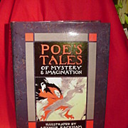 Facsimile Edition 1986 of Poe's Tales of Mystery and Imagination, Illustrated by Arthur Rackham