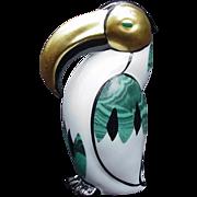 Italian Porcelain Penguin Figurine, Le Porcellane