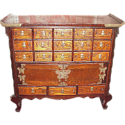 Korean Chest, Butterfly Closures