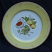 REDUCED Georges Briard Dinner Plate, Somerset Pattern, Yellow Floral