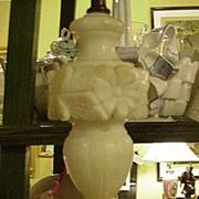 Vintage Marble Vanity or Bedside Lamp