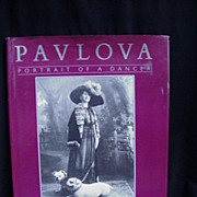Pavlova, Portrait of a Dancer, First U.S. Edition, Presented by Margot Fonteyn